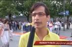گزارش تلویزیون ایرانیان برلین (IRTV)  از مراسم سالگرد ۱۸ تیر در برلین ( ۱۸ تیرماه ۱۳۹۲)