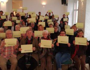 همبستگی پلنوم شورای پناهندگان برلین با ابتکار اینجا ماندن به جای افغانستان